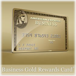 The American Express Business Gold Rewards Card