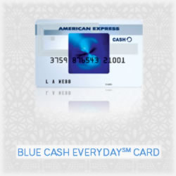 Carry the American Express Blue Cash Card?