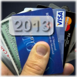 Credit Card Changes in 2013