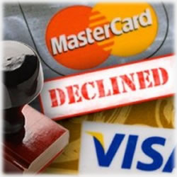 Declined: Fraud, Late Payments and Lowered Credit Lines