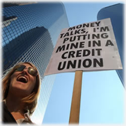 Even More Turning to Credit Unions?