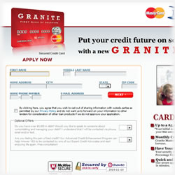 Granite Secured MasterCard Review