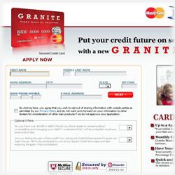 Granite Secured MasterCard Review