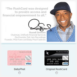 What is Original Rush Prepaid Card?
