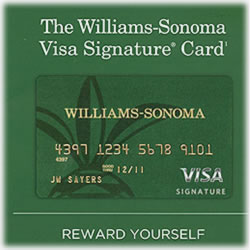 Review: Williams-Sonoma Visa Signature Card