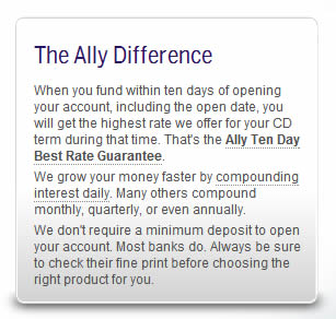 Ally savings account review