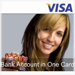 The iBank UPside Visa Prepaid Debit Card