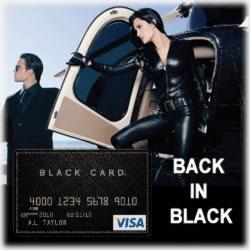 Visa Black Card and its Many Benefits